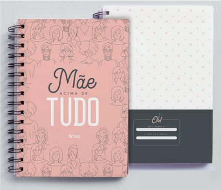 Caderno Mãe acima de tudo